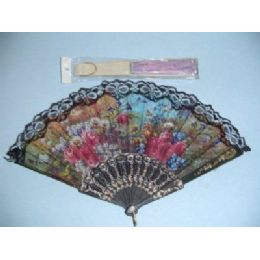 200 of Folding Fan With Lace