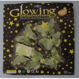 72 of Glow In The Dark ButterflieS-Clear