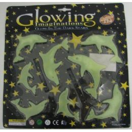 72 of . Glow In The Dark DolphinS-Clear