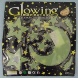 96 of Glow In The Dark Moon And StarS-Man In The Moon
