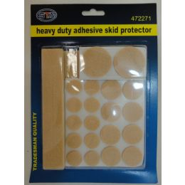 72 of 27pc Heavy Duty Adhesive Skid Protector