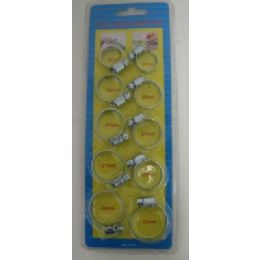 24 of 10pc Hose Clamp Set