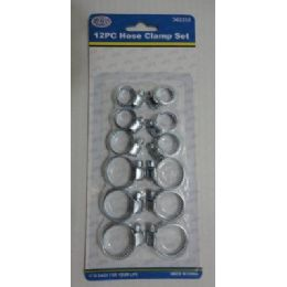 144 of 12pc Hose Clamp Set