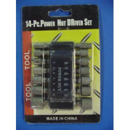 96 of 14pc Power Nut Driver Set
