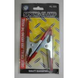 """36 of 2pc 4"""" Metal Spring Clamps"""