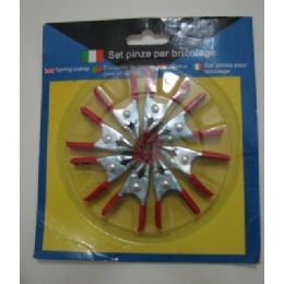 """36 of 8pc 2"""" Spring ClamP-Metal"""