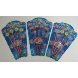 36 of 4pc Butterfly/flower Pencils