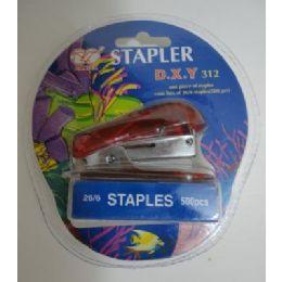 144 of Mini Stapler With Staples