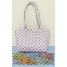 72 of Handmade Woven HandbaG-2 Color