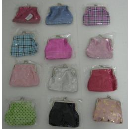 144 of SnaP-Close Change PursE-Assorted Styles
