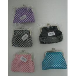 144 of SnaP-Close Change PursE-Metallic Checkered