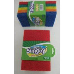 100 of 10pk Colored Scrubbers