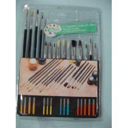 60 of Artist Paintbrushes 15 Piece Set