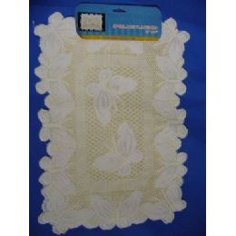 "36 of 2pc Lace Placemat 13""x18"""