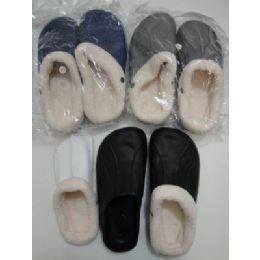 36 of Mens Fleece Lined Garden Shoes