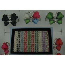 300 of Adjustable RinG-4 Wing Butterfly With 3 Stones