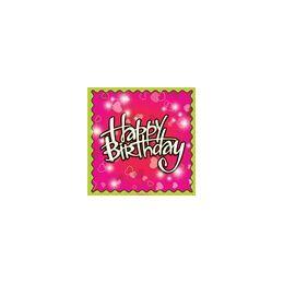 288 of Birthday Love Beverage Napkins - 16ct.