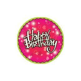"144 of Birthday Love 9"" Plate - 8ct."