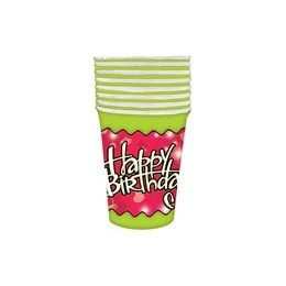 144 of Birthday Love Cups - 8 Ct.