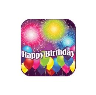 "144 of Birthday Blast 9"" Plate - 8ct."