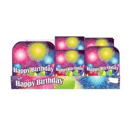 Birthday Blast PrE-Packed Counter Shipper, 96 Ct.