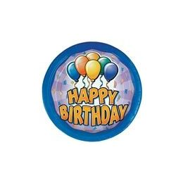 "72 of Birthday Balloon 9"" Plate - 8ct."