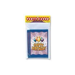 144 of Birthday Balloon Invitations - 8 Ct.