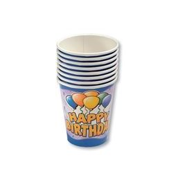 24 of Birthday Balloon Cups - 8ct.