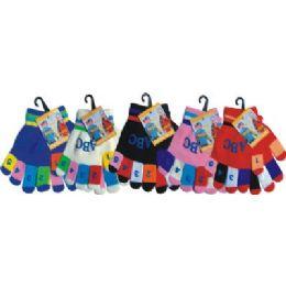 120 of Kids Magic Glove With Snow Flake Print