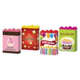 "288 of Happy Birthday Assortment #2 4 Asst. Medium 7"" X 9"" X 3.75"""