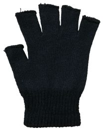 36 of Black Fingerless Magic Glove Unisex - One Size Fits All