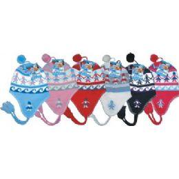 96 of Ladies Fleeced Lined Helmet Hat