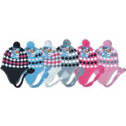 48 of Ladies Fleeced Lined Helmet Hat