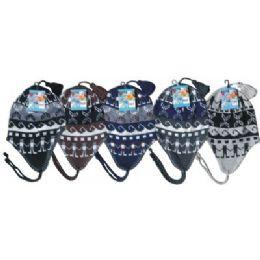 96 of Unisex Fleeced Lined Helmet Hat