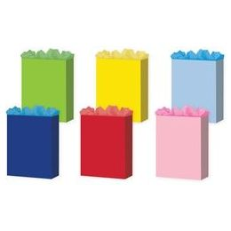 """144 of Solid Colors 6 Asst. Large 10.25"""" X 12.75"""" X 5"""""""