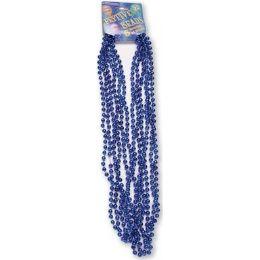 "120 of Festive Beads - 33"" Royal Blue - 6 ct"