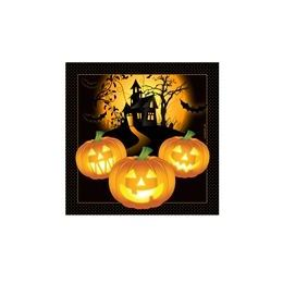288 of Haunted House Beverage Napkins - 16ct.