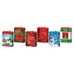 288 of GifT-Bag Medium Gls Holiday 4 Asst