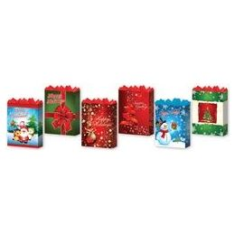 """144 of Holiday 6 Asst. Large 10.25"""" X 12.75"""" X 5"""""""