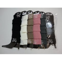 48 of Leg WarmerS--Studded Bow