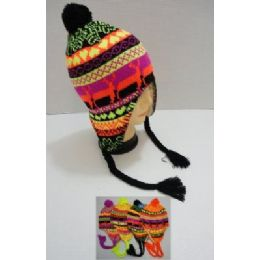 144 of Helmet Hat Knit Design Neon
