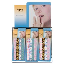 144 of Viva 4 Pc Nail Care Set On Display Rack