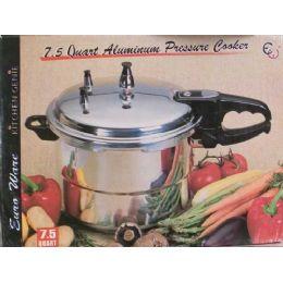 4 of 7.5 Quart Pressure Cooker UL Listed
