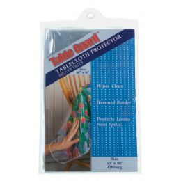 72 of Heavy Duty Clear Tablecloth Protector