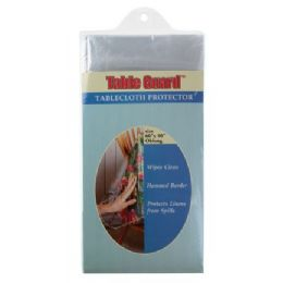 144 of Economy Clear Tablecloth Protector (asst Sizes)