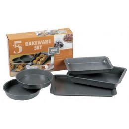 6 of 5 Piece Non Stick Bakeware Set