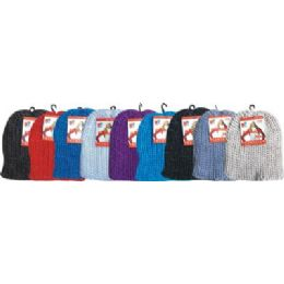 96 of Cable Knit Hat Assorted Colors