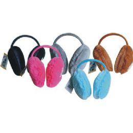 144 of Ladies Plush Ear Warmer