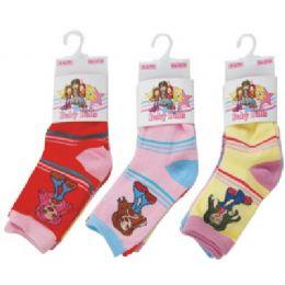 144 of 3 Pack Of Kids Socks