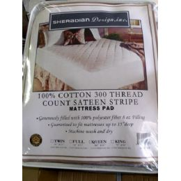 14 of 100% Cotton Matress Cover Twin Size